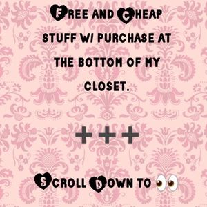 Shoes - Free and Cheap Stuff w/Purch. Scroll 2 the Bottom!